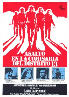 Assault on Precinct 13 - 27 x 40 Movie Poster - Spanish Style A