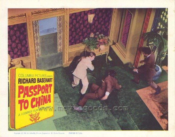 PCG Passport to China Poster Movie G 11 x 14 In - 28cm x 36cm Richard Basehart Lisa Gastoni Athene Seyler Eric Pohlmann Alan Gifford at Sears.com