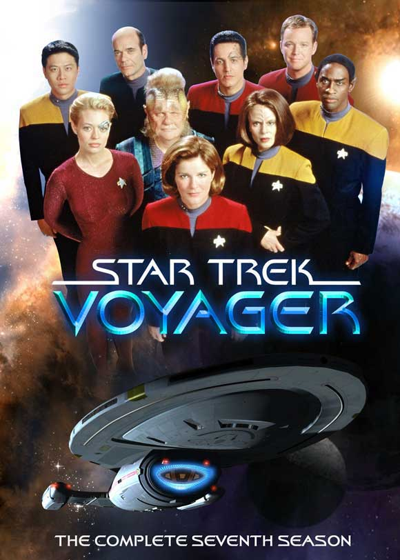 Star trek voyager 27 x 40 inches 69cm x 102cm tv poster reprint
