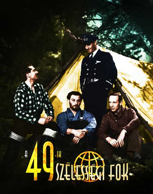 PCG 49th Parallel Poster Movie German 27 x 40 Inches - 69cm x 102cm Michel Constantin Alexandra Stewart Roger Blin Edwine Moatti at Sears.com