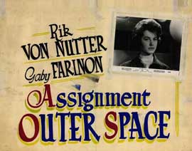 Assignment Outer Space - 22 x 28 Movie Poster - Half Sheet Style A