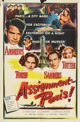 Assignment: Paris - 11 x 17 Movie Poster - Style B