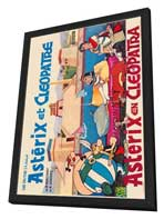 Asterix and Cleopatra - 27 x 40 Movie Poster - Belgian Style A - in Deluxe Wood Frame