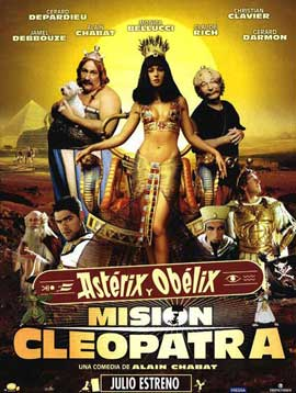 Asterix and Obelix Meet Cleopatra - 27 x 40 Movie Poster - Spanish Style A