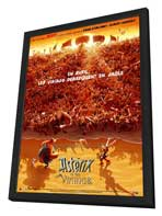 Asterix and the Vikings - 27 x 40 Movie Poster - French Style B - in Deluxe Wood Frame