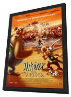 Asterix and the Vikings - 11 x 17 Movie Poster - French Style C - in Deluxe Wood Frame