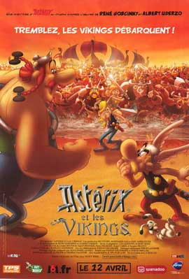 Asterix and the Vikings - 11 x 17 Movie Poster - French Style A