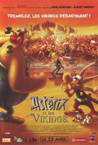 Asterix and the Vikings - 47 x 62 Movie Poster - French Style A