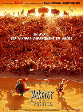 Asterix and the Vikings - 27 x 40 Movie Poster - French Style B