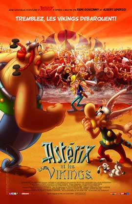 Asterix and the Vikings - 11 x 17 Movie Poster - French Style C