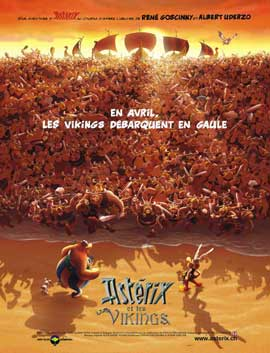 Asterix and the Vikings - 11 x 17 Movie Poster - French Style D