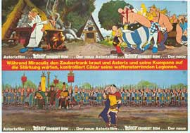 Asterix Conquers Rome - 11 x 17 Movie Poster - German Style B