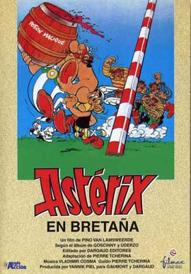 Asterix in Britain - 27 x 40 Movie Poster - Spanish Style A