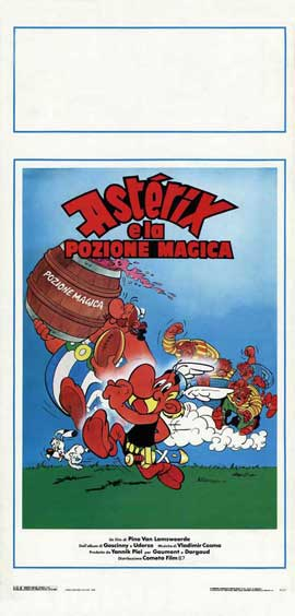 Asterix in Britain - 13 x 28 Movie Poster - Italian Style A