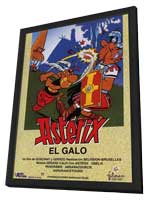 Asterix the Gaul - 11 x 17 Movie Poster - Spanish Style A - in Deluxe Wood Frame