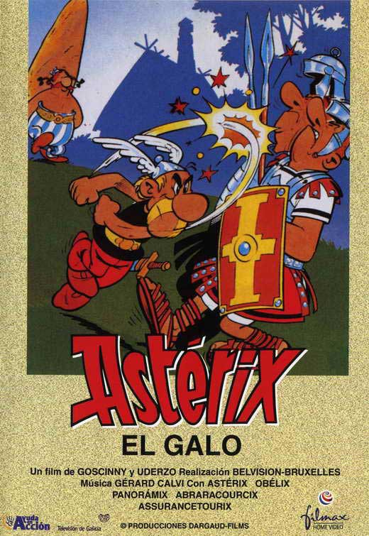 Asterix the Gaul Movie Posters 1967