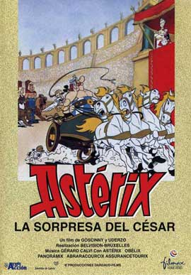 Asterix Versus Caesar - 27 x 40 Movie Poster - Spanish Style B