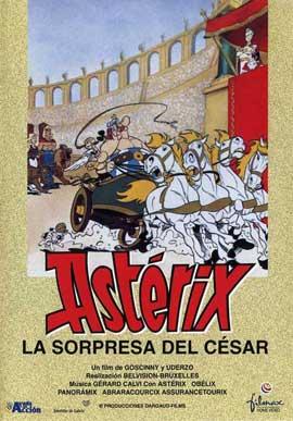 Asterix Versus Caesar - 11 x 17 Movie Poster - Spanish Style B