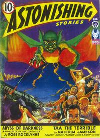 Astonishing Stories (Pulp) - 11 x 17 Pulp Poster - Style A