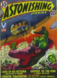 Astonishing Stories (Pulp) - 11 x 17 Pulp Poster - Style D