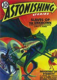 Astonishing Stories (Pulp) - 11 x 17 Pulp Poster - Style E