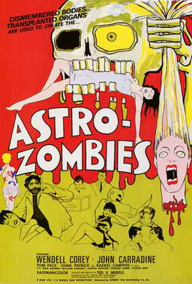 Astro-Zombies - 11 x 17 Movie Poster - Style A