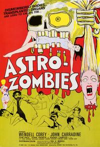Astro-Zombies - 11 x 17 Movie Poster - Style A - Museum Wrapped Canvas