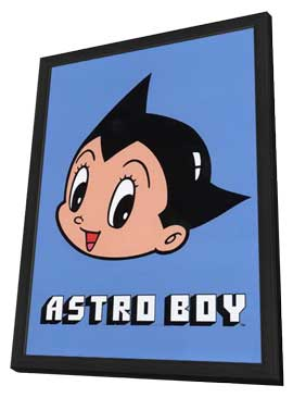 Astroboy - 11 x 17 Movie Poster - Style H - in Deluxe Wood Frame