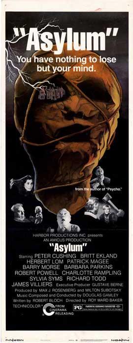 Asylum - 14 x 36 Movie Poster - Insert Style A