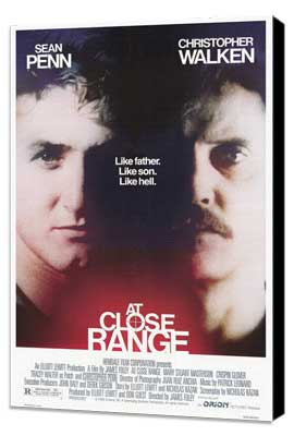 At Close Range - 27 x 40 Movie Poster - Style A - Museum Wrapped Canvas