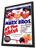 At the Circus - 11 x 17 Movie Poster - Style A - in Deluxe Wood Frame