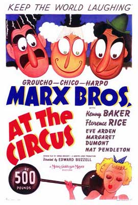 At the Circus - 27 x 40 Movie Poster - Style A