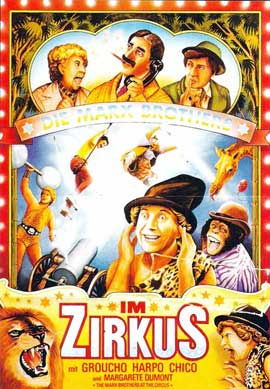 At the Circus - 11 x 17 Movie Poster - German Style A