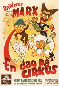 At the Circus - 11 x 17 Movie Poster - Swedish Style A