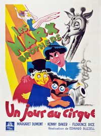 At the Circus - 11 x 17 Movie Poster - French Style A