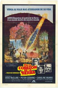 At the Earth's Core - 11 x 17 Movie Poster - Spanish Style A