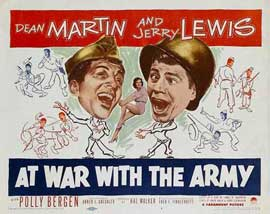 At War with the Army - 11 x 17 Movie Poster - Style A