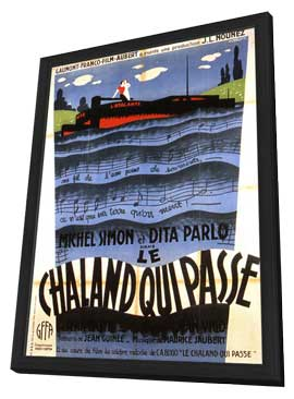 - 11 x 17 Movie Poster - French Style B - in Deluxe Wood Frame