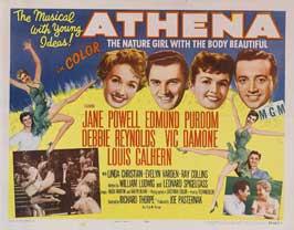 Athena - 22 x 28 Movie Poster - Half Sheet Style A