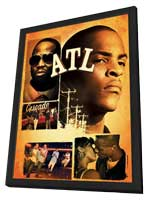 ATL - 11 x 17 Movie Poster - Style B - in Deluxe Wood Frame