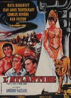 Atlantid - 11 x 17 Movie Poster - French Style B
