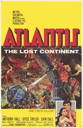 Atlantis, The Lost Continent - 11 x 17 Movie Poster - Style A