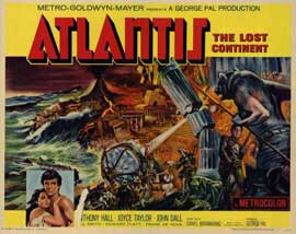 Atlantis, The Lost Continent - 11 x 14 Movie Poster - Style A