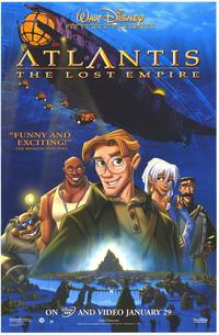 Atlantis: The Lost Empire - 27 x 40 Movie Poster - Style C
