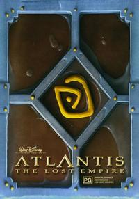 Atlantis: The Lost Empire - 27 x 40 Movie Poster - Style D