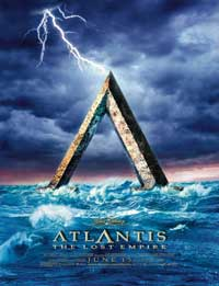 Atlantis: The Lost Empire - 27 x 40 Movie Poster - Style E