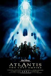 Atlantis: The Lost Empire - 27 x 40 Movie Poster - Style F