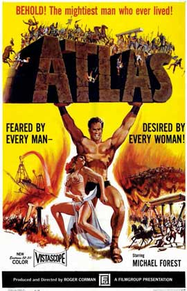 Atlas - 11 x 17 Movie Poster - Style A