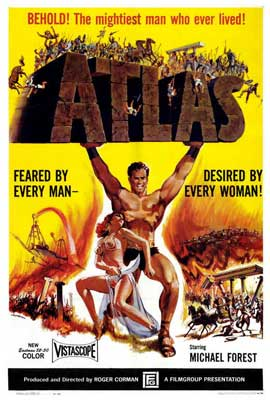 Atlas - 27 x 40 Movie Poster - Style A