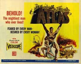 Atlas - 22 x 28 Movie Poster - Half Sheet Style A